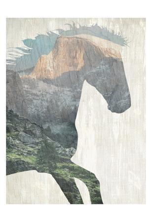 Running Mountains-Kimberly Allen-Art Print