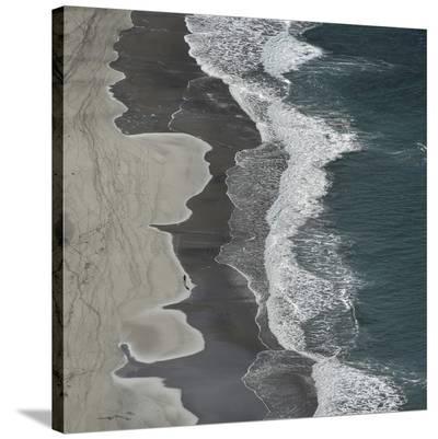 Running Waves-Lex Molenaar-Stretched Canvas Print