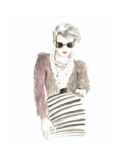 Runway Fashion I- Laurencon-Art Print