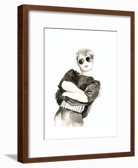 Runway Fashion II- Laurencon-Framed Art Print