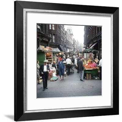 Rupert Street in Soho, London 1966-Malcolm MacNeill-Framed Photographic Print