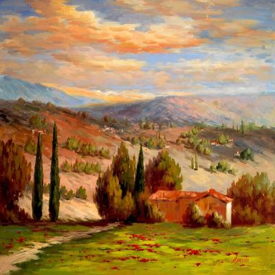Rural Bliss-Marino-Art Print