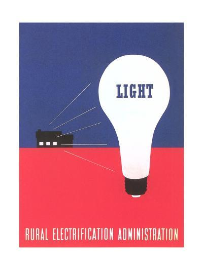 Rural Electrification Administration Poster--Giclee Print