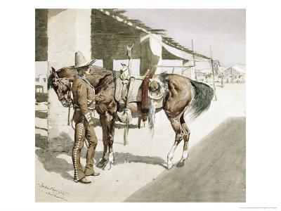 Rural Guard, Mexico-Frederic Sackrider Remington-Giclee Print