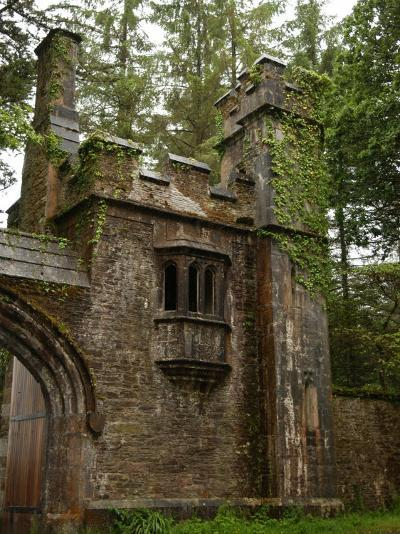 Rural Ireland, Stone Building-Keith Levit-Photographic Print