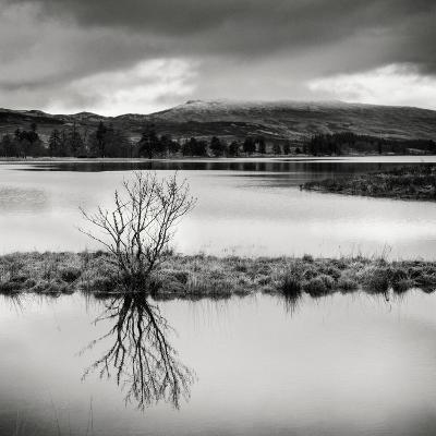 Rural Landscape with Lake-Craig Roberts-Photographic Print