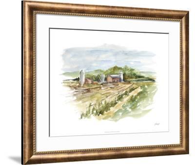 Rural Plein Air VI-Ethan Harper-Framed Limited Edition