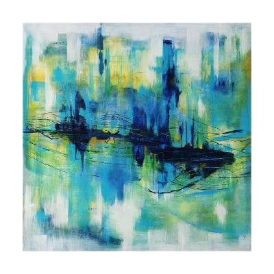 Rush Hour Blues-Joshua Schicker-Giclee Print