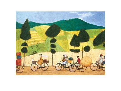 Rush Hour on the Road to Lushoto-Sam Toft-Art Print