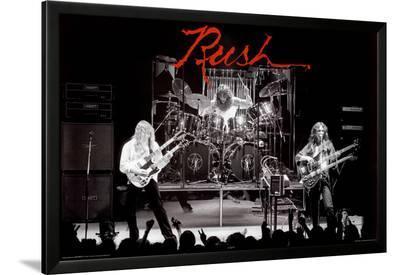 Rush--Lamina Framed Poster
