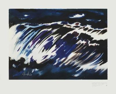 Rushing Water, 1963-Siegward Sprotte-Art Print