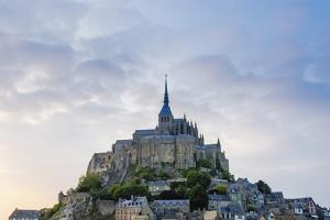 Evening Light over Mont Saint-Michel, Normandy, France by Russ Bishop