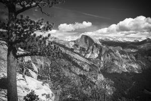 Half Dome from Yosemite Point, Yosemite National Park, California, USA by Russ Bishop
