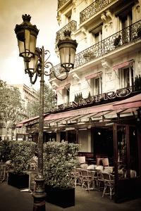 Le Metro Restaurant, Left Bank, Paris, France by Russ Bishop