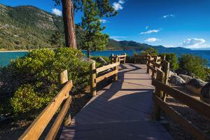 Shoreline path at Sand Harbor State Park, Lake Tahoe, Nevada, USA by Russ Bishop