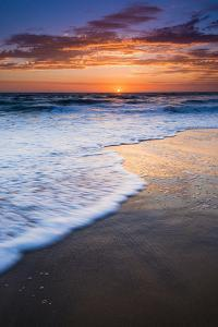 Sunset over the Pacific Ocean from Ventura State Beach, Ventura, California, USA by Russ Bishop