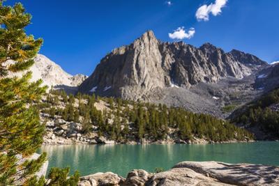 Temple Crag above Big Pine Lake, John Muir Wilderness, California, USA by Russ Bishop