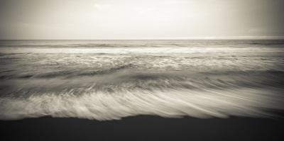 Waves, Waipio Valley Beach, Hamakua Coast, the Big Island, Hawaii by Russ Bishop