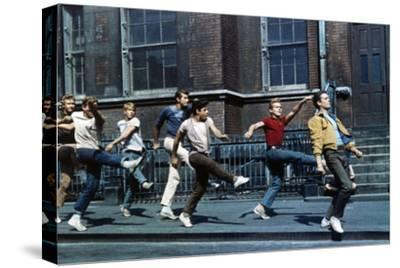"Russ Tamblyn, Tony Mordente. ""West Side Story"" 1961, Directed by Robert Wise"