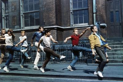 """Russ Tamblyn, Tony Mordente. """"West Side Story"""" 1961, Directed by Robert Wise--Photographic Print"""
