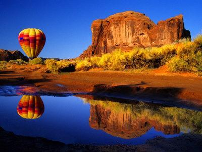 Arizona, Monument Valley, Hot Air Balloon