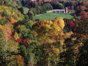 Countryside with Barn, Vermont by Russell Burden