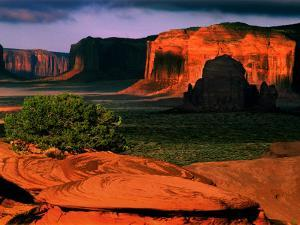 Mystery Valley, Monument Valley, AZ by Russell Burden