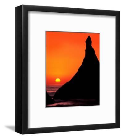 Oregon, Bandon Beach Sunset