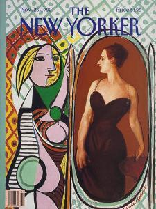 The New Yorker Cover - November 23, 1992 by Russell Connor