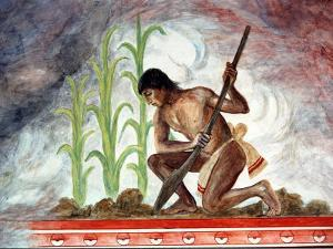 Arturo Garcia Bustos's Murals Adorn the Walls of the Presidential Palace, Oaxaca, Mexico by Russell Gordon