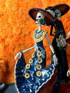 Day of the Dead Offering in Museum of Fine Mexican Art, Mexico by Russell Gordon