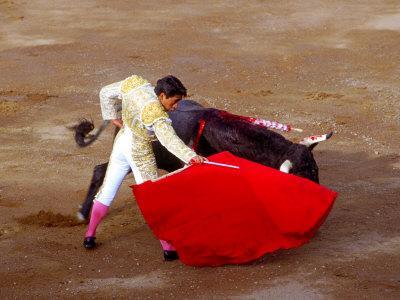 Matador at Monumental El Paso, Bullfight (Fiesta Brava), San Luis Potosi, Mexico