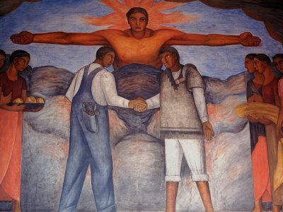 Murals by Diego Rivera, Secretary of Public Education, Mexico