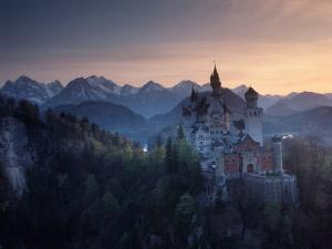 Neuschwanstein Castle, Germany by Russell Gordon