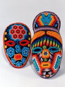 Traditional Ethnic Arts, Huichol Indian Beadwork, Huichol Mythology, Mexico by Russell Gordon