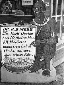 Medicine Man, 1938 by Russell Lee