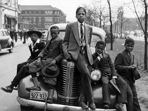 Southside Boys, Chicago, c.1941 by Russell Lee