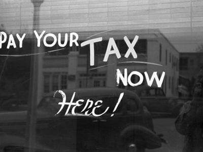 Storefront Sign, 1939