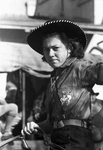 Texas: Cowgirl, 1940 by Russell Lee