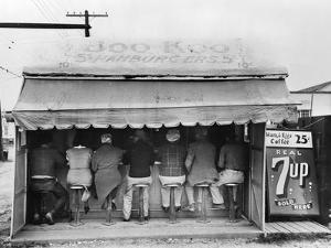 Texas: Luncheonette, 1939 by Russell Lee