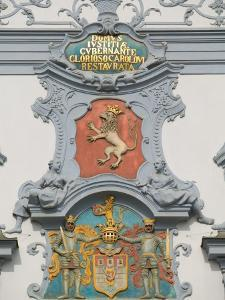 Architectural Detail, Ceske Budejovice, Czech Republic by Russell Young