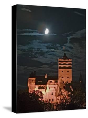 Dracula Castle at Night, Bran Castle, Transylvania, Romania