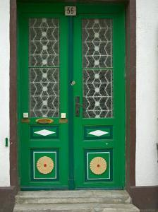 Green Door, Warnemunde, Germany by Russell Young