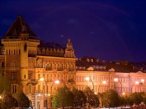 Historic District of Prague, Czech Republic by Russell Young