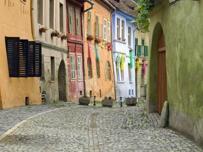 Medieval Old Town, Sighisoara, Transylvania, Romania