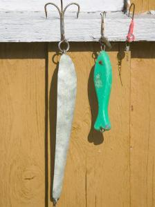North Sea Fishing Lures, Norway by Russell Young