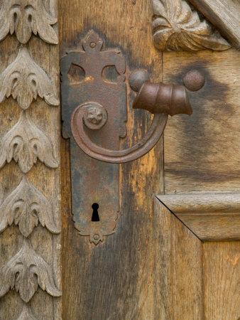 Old Door Handle, Ceske Budejovice, Czech Republic