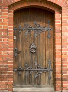 Old Door, Warnemunde, Germany by Russell Young
