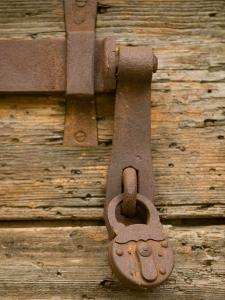 Old Padlock, Senj, Croatia by Russell Young