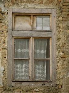 Old Window, Senj, Croatia by Russell Young
